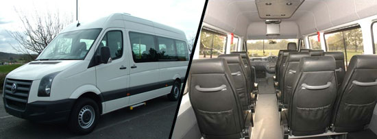 17 Seater Luxury Sprinter Johannesburg