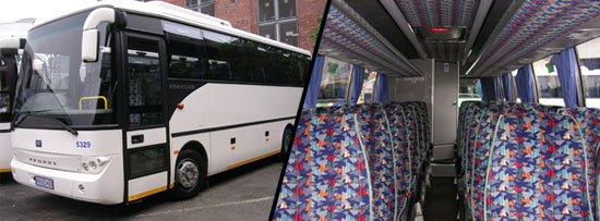 28 Seater Luxury Coach Johannesburg