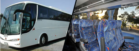 40 Seater Luxury Coach Johannesburg