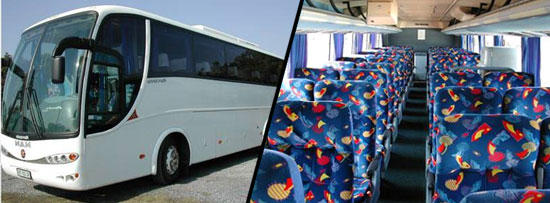 44 Seater Luxury Coach Johannesburg