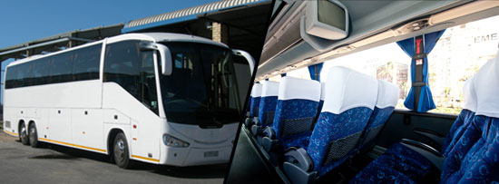 52 Seater Luxury Coach Johannesburg