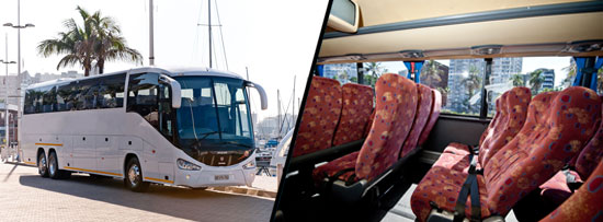 70 Seater Luxury Coach (without toilet) Johannesburg