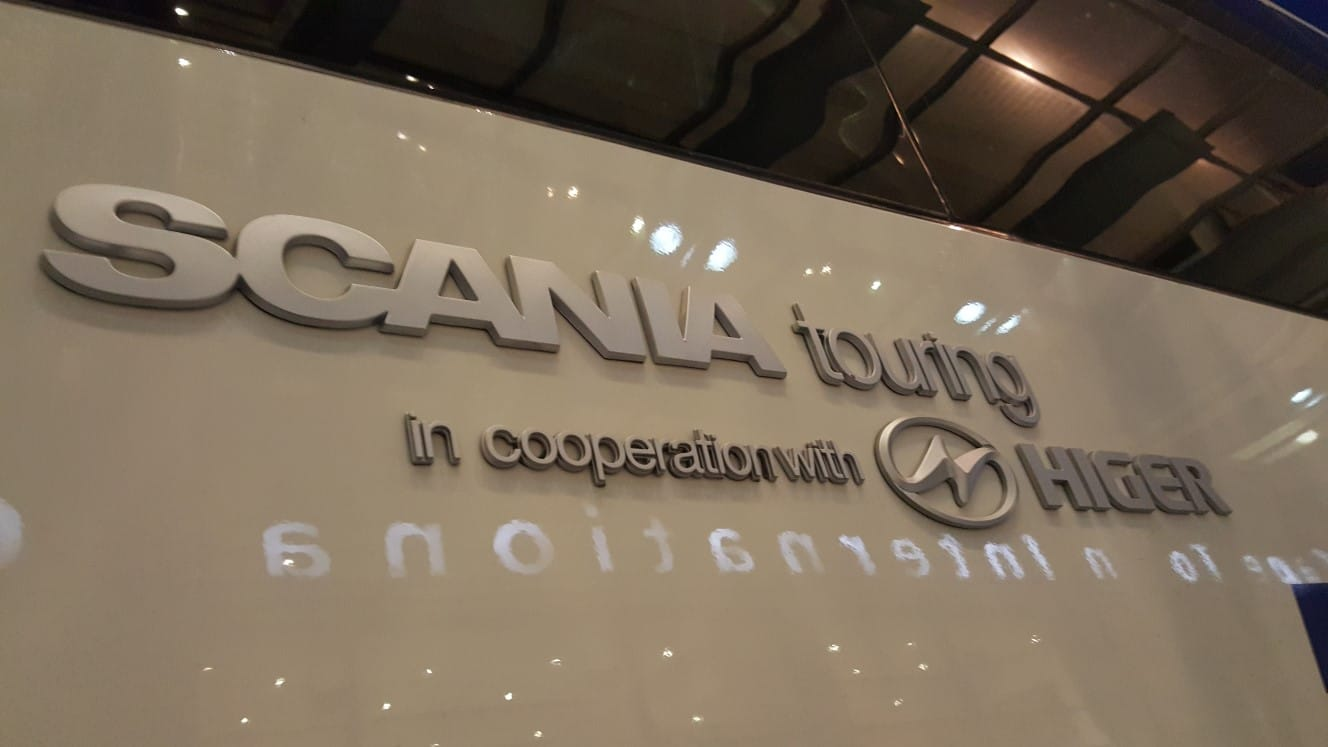 Bus Hire in Johannesburg Has Scania Touring Coaches