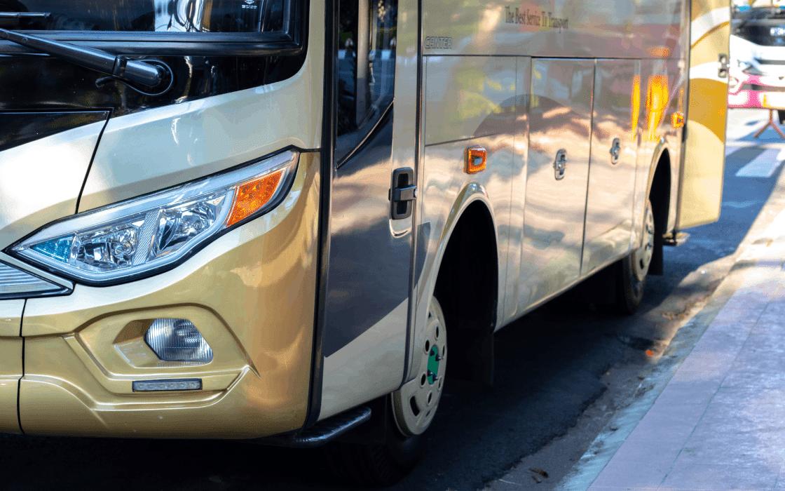 Best Coach Hire Companies in Johannesburg Parking their Coach