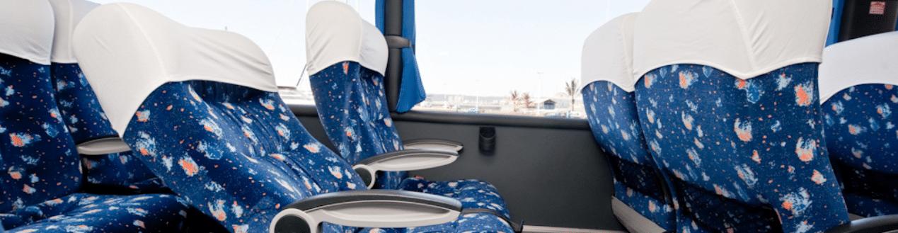 Luxury Coach Charter Reclining Seats