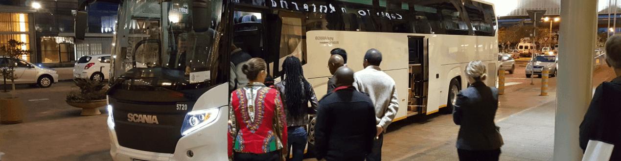 Luxury Coach Hire Johannesburg Passengers