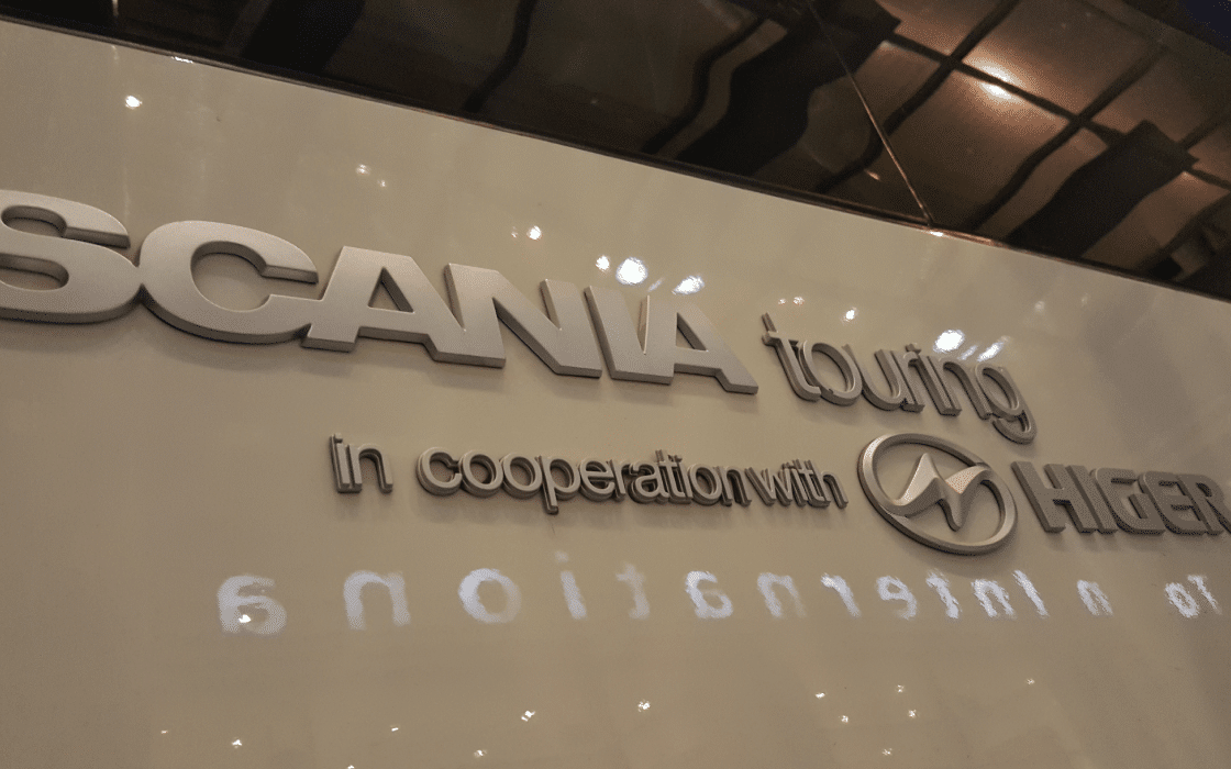 Coach Charter Scania Johannesburg