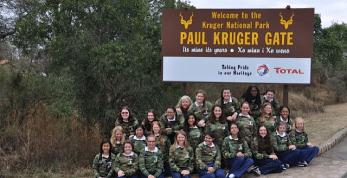 Tour Group at Kruger Park